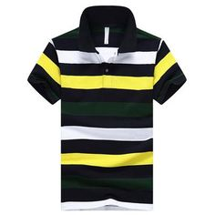 Newly Male Striped Polo Dress Men Brand Clothing Polo Homme Shirts Brand New Summer Men Polo Shirt Casual Cotton Short Sleeve