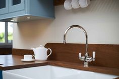 Polaris 3-in-1 Instant Hot Tap Sink Mixer - Perrin and Rowe