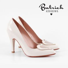 <3 zapato *Kelly* hueso <3 Alter Ego / Butrich <3 #corazón #corazones #zapatos #shoe #heart