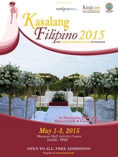 Free Admission, Wedding Fair, Wedding 2015, Filipino, Type 3, Tourism, Facebook, Photos, Turismo