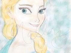 Elsa, Frozen | My Sketchbook