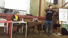 David Rabe Cardeñosa y Hector Brotons dieron un par de charlas super interesantes sobre el funcionamiento de las asociaciones cannábicas y los despropósitos de la nueva ley de tráfico y ley de seguridad ciudadana