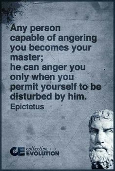 Wisdom Quotes : QUOTATION – Image : As the quote says – Description Who is your master…anger? Wise Quotes, Quotable Quotes, Great Quotes, Quotes To Live By, Motivational Quotes, Inspirational Quotes, Socrates Quotes, Aristotle Quotes, The Words