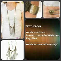 I love this look!   Order now at paparazziaccessories.com/42635. Login or create a customer account and join the Mystery Hostess Party. Remember you get 1 entry to win all the hostess rewards for every piece you purchase.