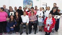 """Brindan curso de """"Desarrollo humano"""" a personas de la tercera edad en Trancoso"""