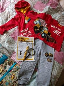Were Going on a Bug Hunt with JCB Kids  The weather is improving and JCB Kids have launched a new range kids clothes with M&Co. So what the best way to try them out? With a bug hunt of course.  Our JCB Kids parcel We receivedthe best bright red T-Shirt Ready Set Lets Get Digging and the matching red Hoodie. I love the hoodie as its nice and thin perfect as an extra layer this time of year when you just need something to take the chill off. We also got a pair of lovely grey trousers trousers…