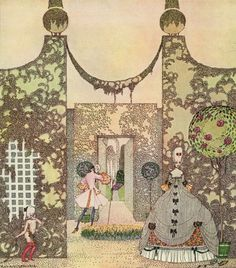 Kay Nielsen - In Powder and Crinoline