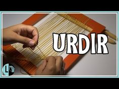 URDIR Decorative Loom Tutorial step by step Tipps Hacks Cheats. Handmade Crafts, Diy And Crafts, Crochet Quilt, Loom Weaving, Weaving Techniques, Loom Knitting, Textile Art, Needle Felting, Youtube