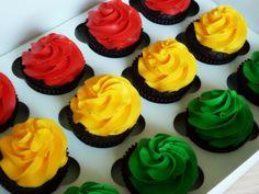 Traffic light cupcakes #trafficlightcupcakes #mimissweetcakesnbakes