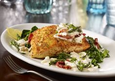 Maggiano's Little Italy Salmon Oscar Recipe Baked Salmon Recipes, Fish Recipes, Seafood Recipes, Restaurant Recipes, Copycat Recipes, Recipies, Entree Recipes, Dinner Recipes, Cooking Recipes
