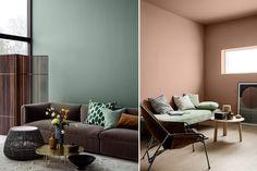 Jotuns smarte fargekart for 2018 - Obs BYGG Dark Teal, Interior, Furniture, Home Decor, Colors, Google, Paint Colours, Tables, Beige