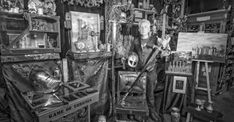 Een beeldhouwer in techniek, dat is Gouwenaar Jacques Mul Castles, Steampunk, Objects, Gouda, Fantasy, Painting, Dioramas, Painting Art, Paintings