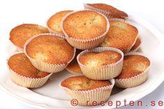 Rabarbermuffins - Recept
