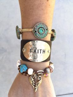 $8.99 | It's All About The Faith... Bout The Faith... Unique Bracelets | Shop boutique deals  on Jane.com!