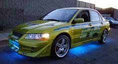 Mitsubishi Lancer Evolution VII 2 Fast 2 Furious Dijual #info #BosMobil