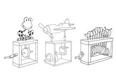 Mehānika rokdarbos. How to design and make automata