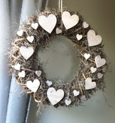 Christmas Advent Wreath, Christmas Wreaths To Make, Holiday Wreaths, Holiday Decor, Grapevine Wreath, Burlap Wreath, Button Wreath, Floral Hoops, White Candles