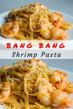 It's a great night, as far as our daughter Lauren is concerned, when we have a seafood dinner…but she REALLY loves this Bang Bang Shrimp Pasta! And why not let her enjoy it frequently? This shrimp pasta is an easy, quick, cheap dinner for any night of the week! BakeItWithLove.com | #bangbangshrimppasta #pastadinner #shrimpdinner #seafood #supper #quickmeals