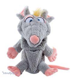 Schnurz is een grappige en goed bespeelbare rat handpop van 38 cm groot. Hij is prachtig gemaakt en van het merk Living Puppets