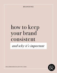 Have you ever wondered how some brands have so much recognition? Learn how to keep your brand consistent by using your brand style guide, brand voice, and brand elements in this post! Personal Branding, Branding Your Business, Business Tips, Business Logos, Corporate Branding, Logo Branding, Online Business, Business Marketing, Creative Business