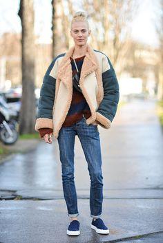 Street Style Paris Fashion Week Februar/März 2016 | POPSUGAR Deutschland Mode | Pinterest: Life is about