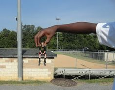 . Art of Apex High School: art one: Forced Perspective Photography