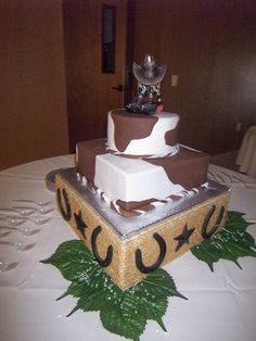 Redneck Wedding Cakes Photos
