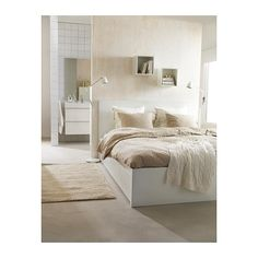 LINBLOMMA Duvet cover and pillowcase(s), natural natural Twin