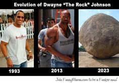 Funny Mama - The evolution of Dwayne Johnson...