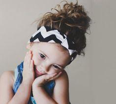 Handmade Daughter Chevron Headband! #chevron #headband #cute #daughter