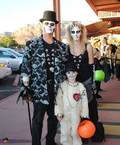 Voodoo Family DIY Halloween Costume - Witch Doctor, Voodoo Priestess & Voodoo Doll by ferenew