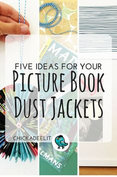 Five Creative Ideas for Picture Book Dust Jackets—These arts and crafts ideas are perfect for kids! Make a book-cover flag bunting and more.