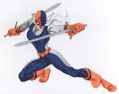 Ravager (Rose Wilson) paper cutout by say-andy.deviantart.com on @DeviantArt