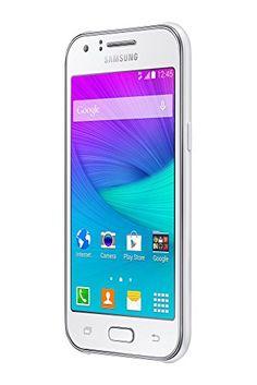 """Samsung Galaxy J1 - Smartphone libre Android (pantalla 4.3"""", cámara 5 Mp, 4 GB, 512 MB RAM), blanco (importado)"""