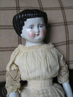 lace  Antique China Doll from The Mary Merritt Doll Museum | eBay