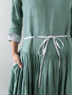 [Envelope Online Shop] Dress・TSUBOMI・long Lisette dress