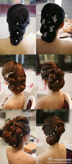 wedding hair phewy!  I would love to wear my hair like this everyday, it can be downplayed, I just have to get it long enough first.
