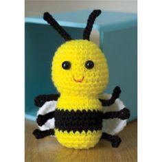 Mary Maxim - Free Baby Bee Crochet Pattern - Free Patterns - Patterns & Books