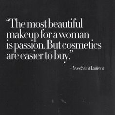Yves Saint Laurent #quotes