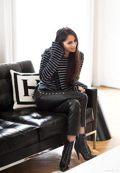 Style Story: Melanie / Melanie Huynh, Saint Laurent, Isabel Marant, Celine / Garance Doré