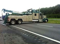 Now, that's a tow truck.