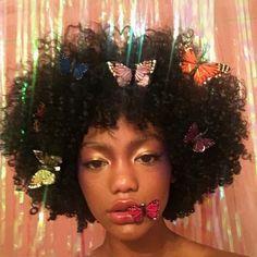 Black Girls R Magic - Beauty Black Girl Magic, Black Girls, Black Women, Pretty People, Beautiful People, Curly Hair Styles, Natural Hair Styles, Art Visage, Black Girl Aesthetic