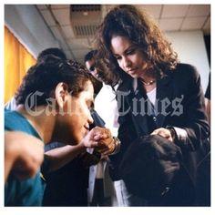 Selena Quintanilla Perez praying