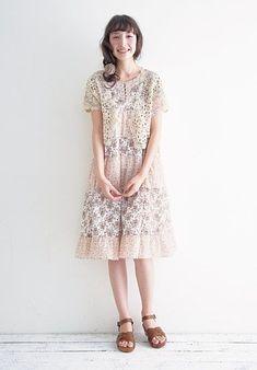 Mori Girl/Forest Girl fashion.