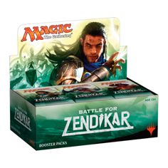 Magic the Gathering : Battle for Zendikar - Sealed Booster Box (36 packs)