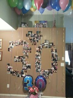 30th birthday - Love this! Someone do this for me, or I will do it myself!