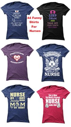 Are you a nurse or do you need a gift for your favorite nurse? Check out these 44 funny nurse shirts.  http://www.sunfrogshirts.com/dmh0226/funny-nurse-shirts