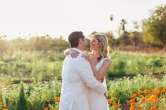 Because when it comes to finding a unique space for your Big Day, it doesn't get any better than a 10-acre floral farm blooming with romance. Mag & B Photography. Florals | Florenta Design