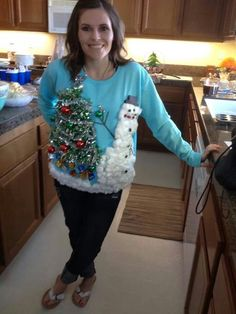 Homemade ugly xmas sweater for under $10