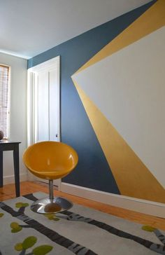 Image result for colourful painted walls office